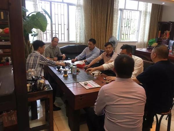 【昱华新闻中心】永康市政协副主席林主席、城西胡书记一行领导来我司参观考察
