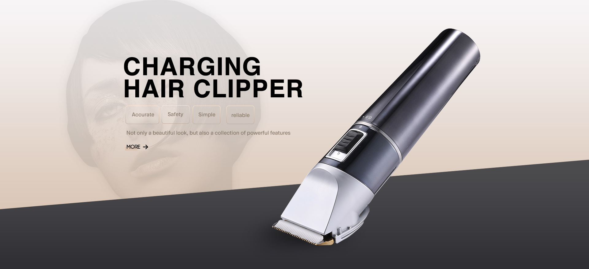 CHARGING  HAIR CLIPPER