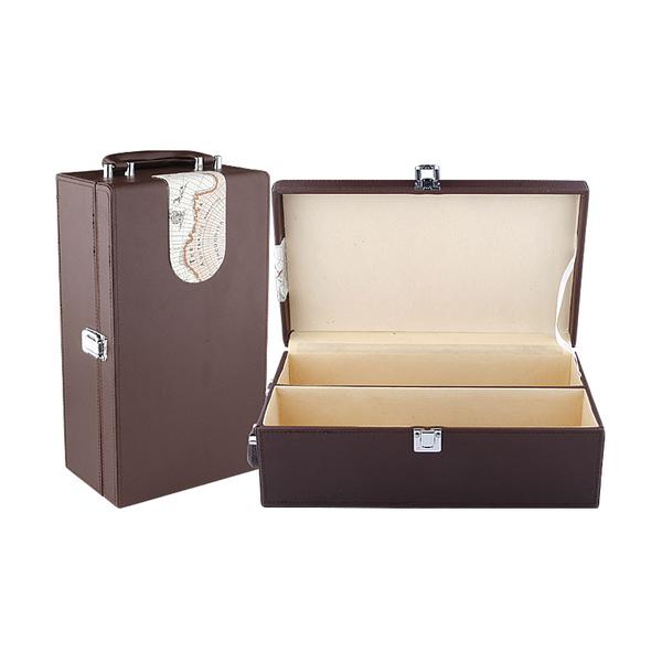 Leather Wine Box 608265