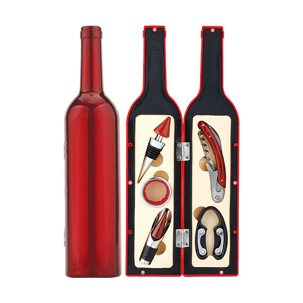 Bottle Shaped Wine Set 608001-B
