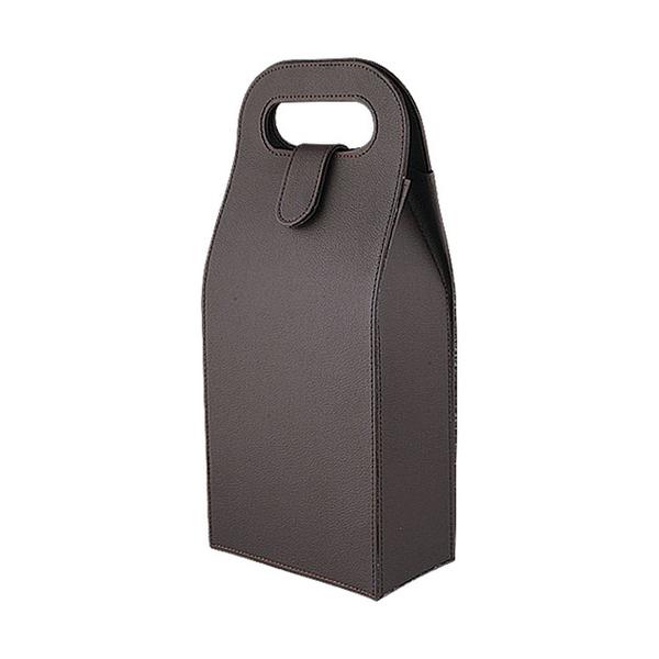 Leather Wine Box 608236-E