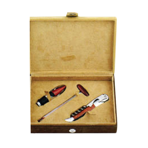 Leather Box-Wine Set 608207