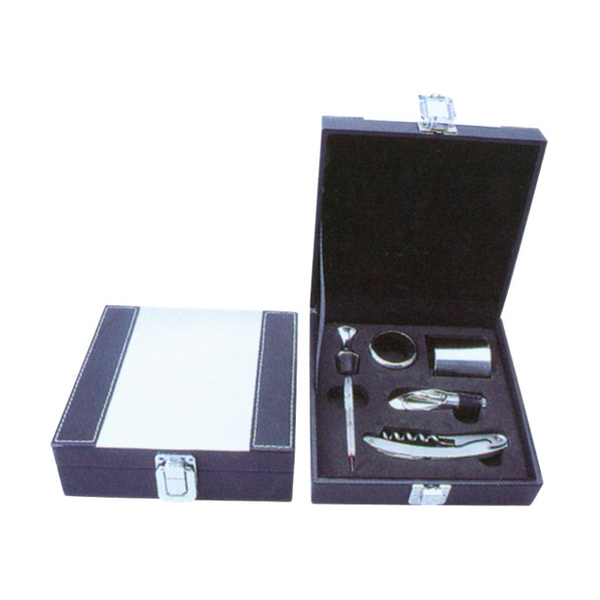 Leather Box-Wine Set 608251