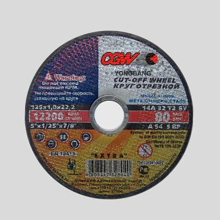 出口增强树脂砂轮片.欧款-YB-030