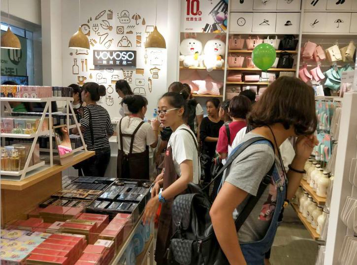 韩尚加盟店客流
