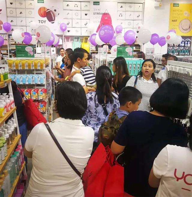 YOYOSO韩尚优品成功进驻菲律宾Quezon店5
