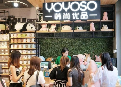 YOYOSO南京萬達茂店新店起航,首日人氣爆滿!