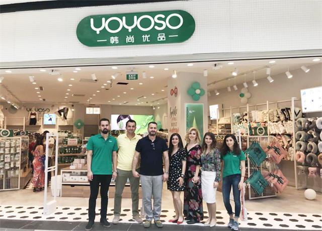 【YOYOSO韩尚优品】土耳其IZMIR店盛大开业,引爆快时尚热潮!