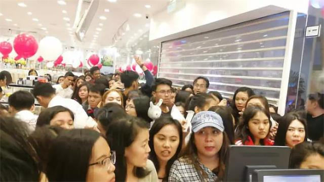 YOYOSO韩尚优品菲律宾Angeles店开业4