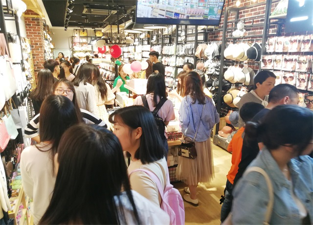 yoyoso韩尚优品快时尚品牌门店