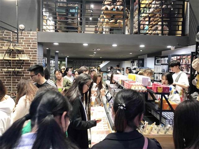 韩尚优品加盟店开业