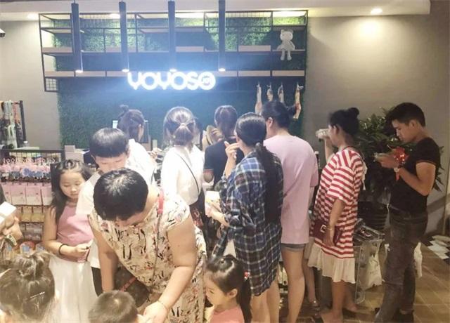 【YOYOSO韩尚优品】安徽萧县店重装开业再创业绩高峰!