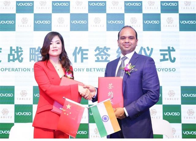 YOYOSO印度签约