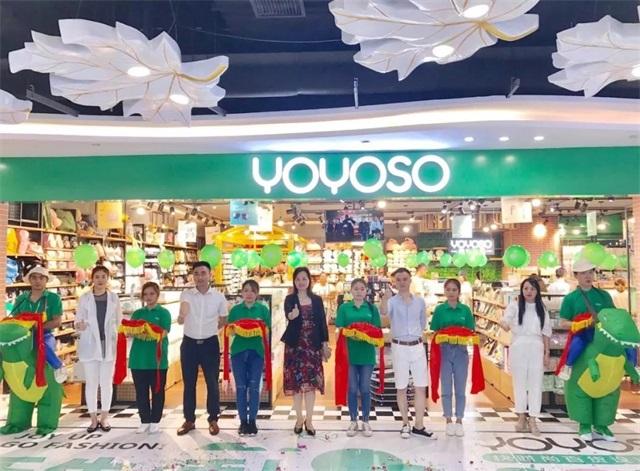 YOYOSO韩尚优品湖南长沙万家丽店开业