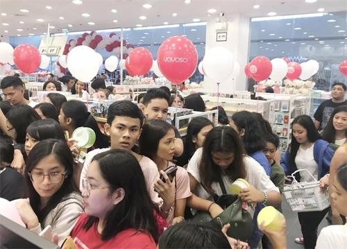 【YOYOSO韓尚優品】菲律賓BATAAN店盛大開業,快時尚席卷東南亞!