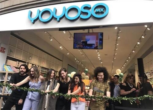 YOYOSO韓尚優品墨西哥COLONIA CENTRO店火爆開業,進一步深化北美市場