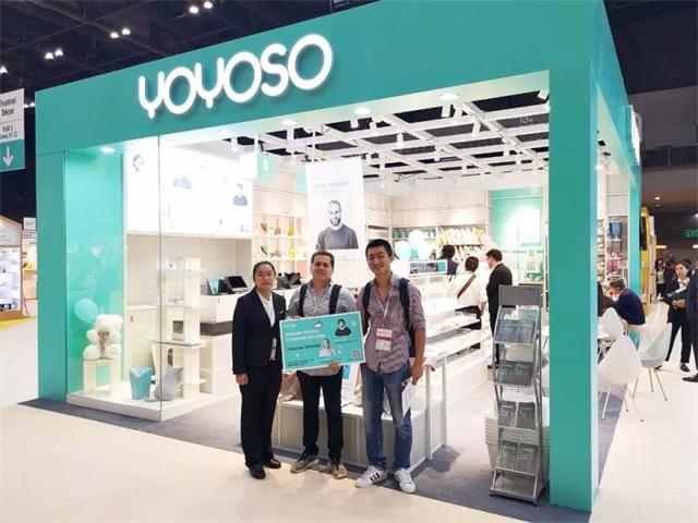 YOYOSO韩尚优品美学优品设计师品牌香港Lifestyle展圆满成功4