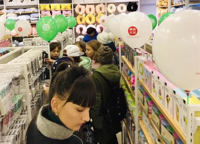 年轻人多样化的需求造就了韩尚优品的火爆