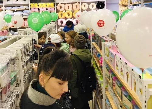 年輕人多樣化的需求造就了韓尚優品的火爆