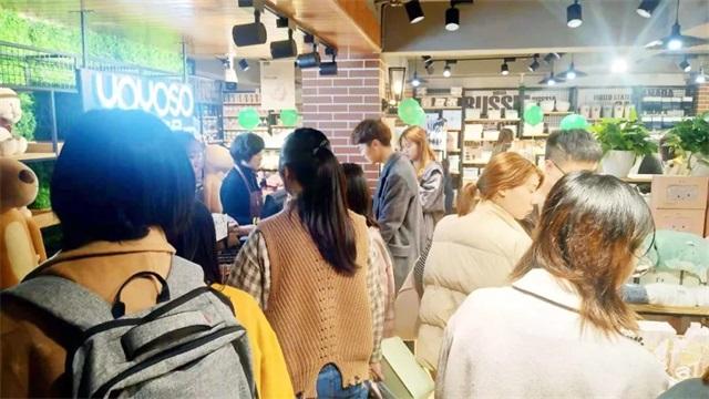 YOYOSO韩尚优品浙江金华职业技术学院店火爆开业3