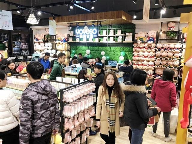 YOYOSO韩尚优品上海闵行旗舰店火爆开业6