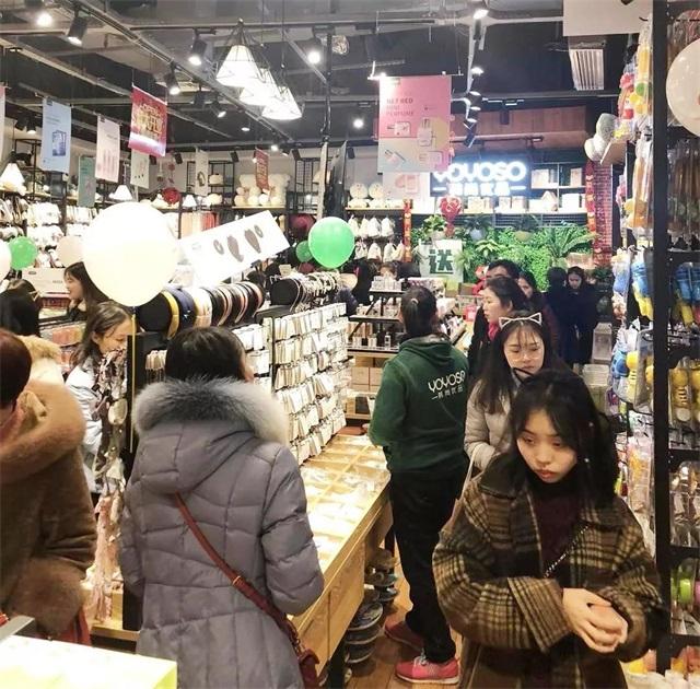 YOYOSO韩尚优品重庆铜梁万达店火爆开业5