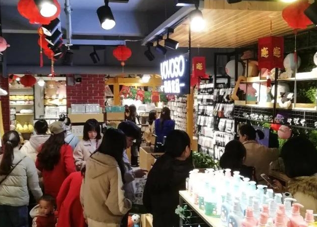 YOYOSO韩尚优品广西贺州店女神节人气火爆5