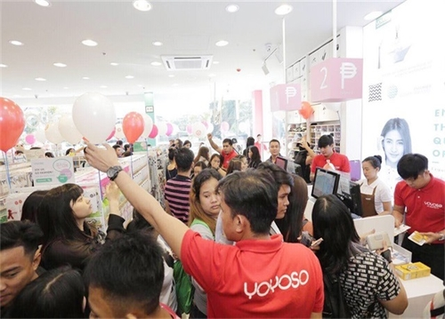 YOYOSO菲律賓Marikina店盛大開業,明星助陣,人氣爆棚!