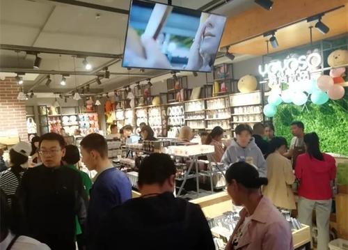 YOYOSO韓尚優品青海格爾木店,引爆美學新零售!