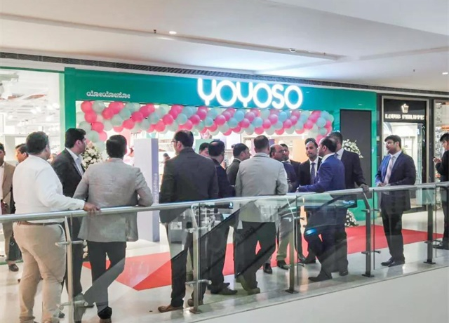 YOYOSO韓尚優品印度Bangalore Vega City 店盛大開業1