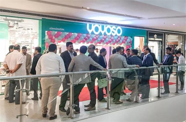 YOYOSO韓尚優品印度Bangalore Vega City 店盛大開業10