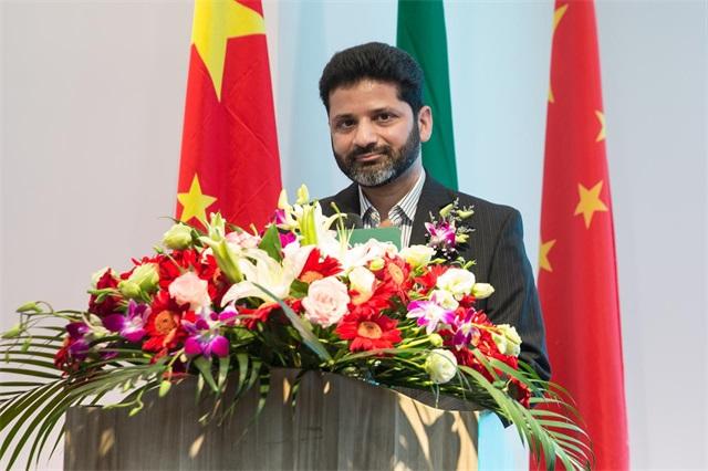 YOYOSO沙特阿拉伯合作伙伴Mustafa Saif 先生致辭