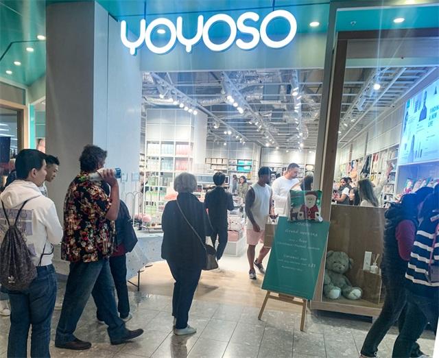 YOYOSO新西蘭 Albany Mall 店盛大開業3