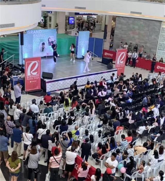 韓尚優品菲律賓店開業活動
