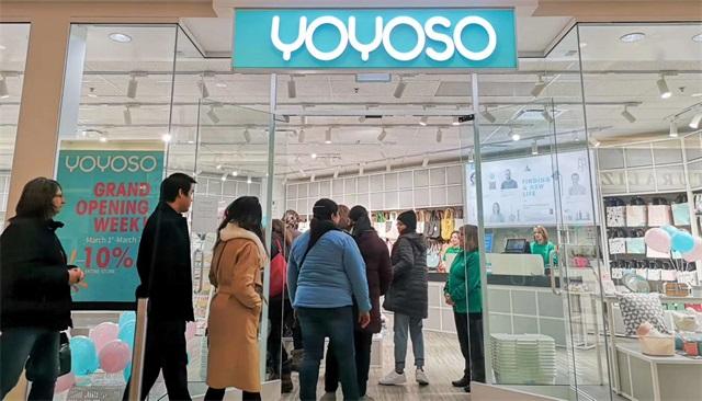 YOYOSO加拿大里賈納店盛大開業6
