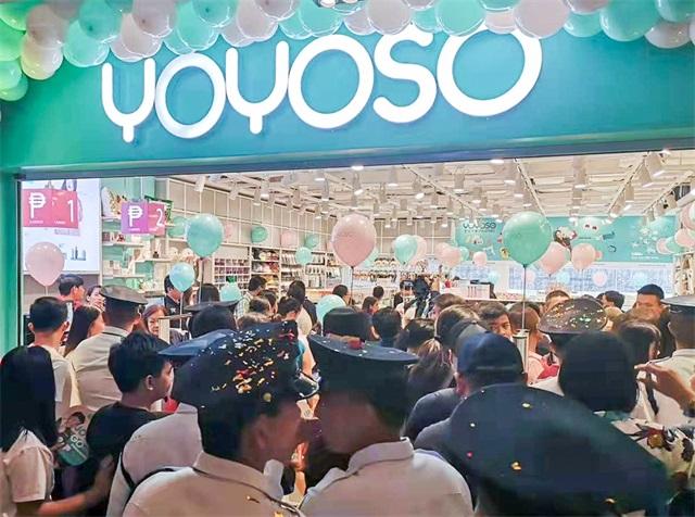 YOYOSO韓尚優品菲律賓新店盛大開業