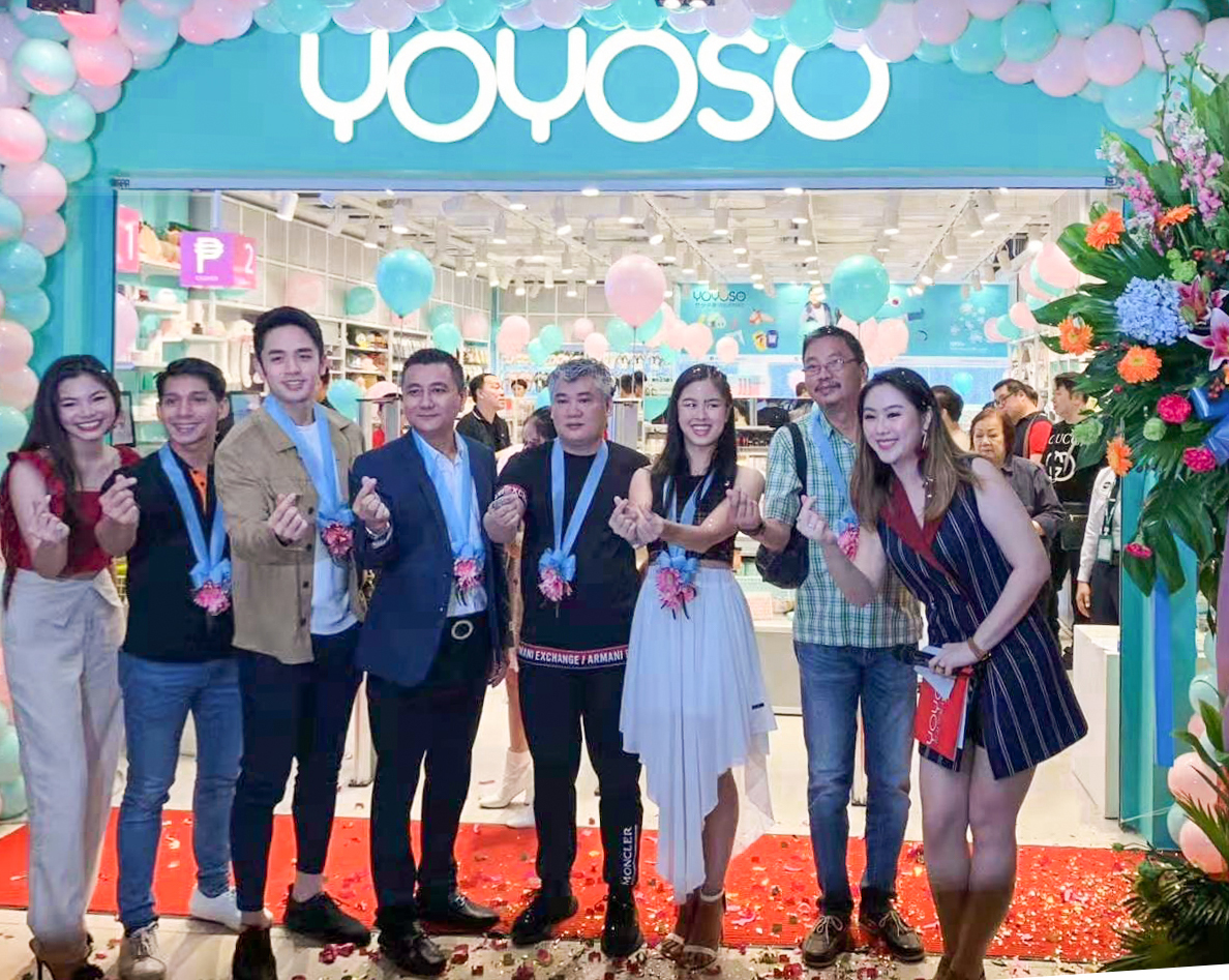 YOYOSO菲律賓海外新店盛大開業