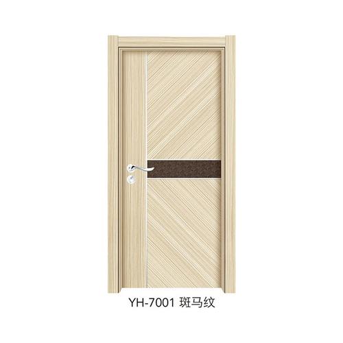 韓式拼接強化門-YH-7001(斑馬紋)