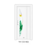 钢木室内门 -YH-123(纯白)