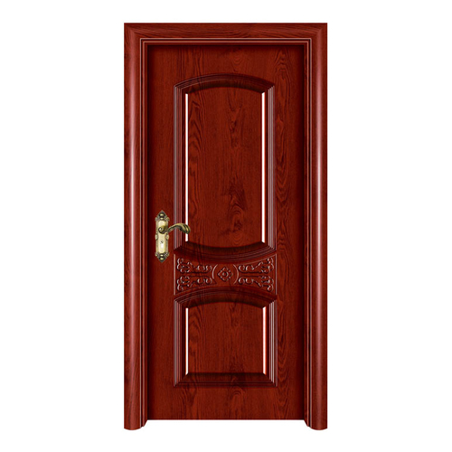 室內套裝門-YH603磨砂紅橡