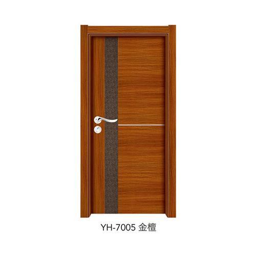 韓式拼接強化門-YH-7005(金檀)