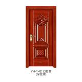 深拉伸仿實木門 -YH-142(幻影黃)