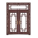 雅閣雙開門 -YH-9815(仿真紫銅)