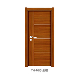 韩式拼接强化门 -YH-7013(金檀)