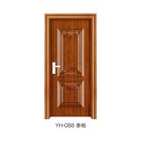 鋼木室內門 -YH-088(泰柚)