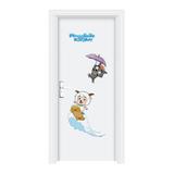 室内套装门 -YH132卡通工艺门