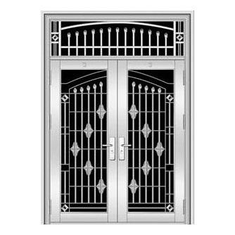 不锈钢门-YH8126二类花