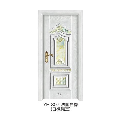 白橡鑲玉門-YH-807(法國白橡)