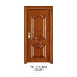 深拉伸仿实木门 -YH-116(泰柚)