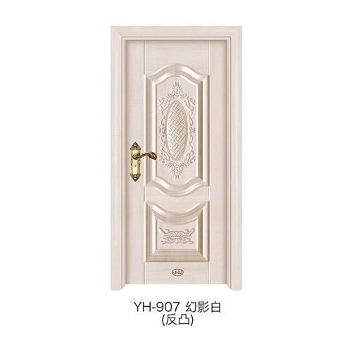 反凸深拉門-YH-907(幻影白)
